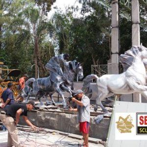 Kelik Studio Semar Mesem Jual Patung Kuda Harga Patung Kuda Copy