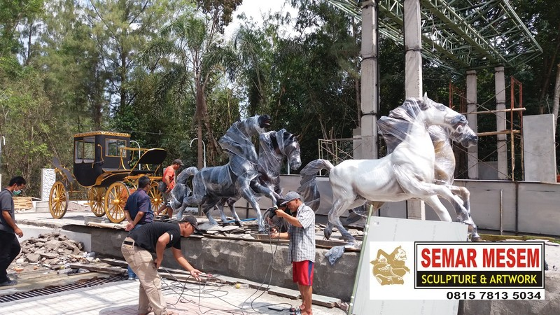 Kelik Studio Semar Mesem Jual Patung Kuda Harga Patung Kuda