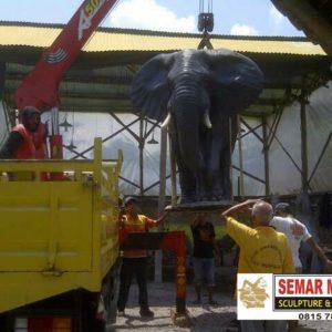 Kelik Studio Semar Mesem Monumen Patung Gajah Monumen Di Jakarta