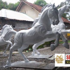 Kelik Studio Semar Mesem Patung Kuda Lari Patung Kuningan