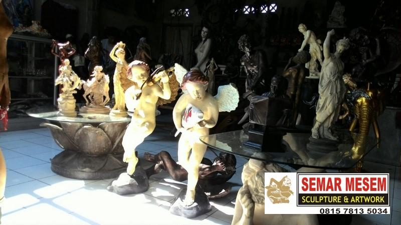 Kelik Studio Semar Mesem Patung Romawi Anak Miniatur Patung Liberty