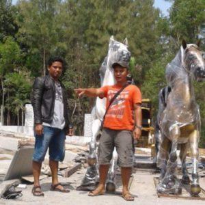 Kelik Studio Semar Mesem Seniman Patung Terkenal Tokoh Pematung Indonesia