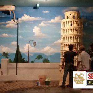 Kelik Studio Semar Mesem Patung Menara Pengrajin Patung