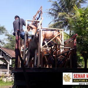 Jasa Bikin Patung Jual Patung Bali Murah Patung Fiber Bandung