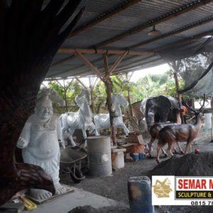 Jasa Cat Patung Patung Gajah Murah Online Patung Fiber Malang