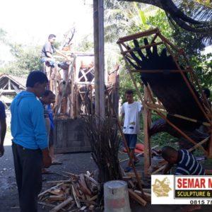 Jasa Pembuatan Patung Fiber Surabaya Patung Fiber Rusa Patung Gajah Murah Online