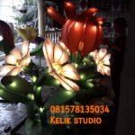 Patung Lampu Taman-081578135034-Patung Bunga