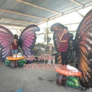 Harga Patung Fiberglass Pembuatan Patung Fiberglass Gambar Patung Kupu Kupu
