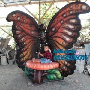Jual Patung Fiberglass Patung Kupukupu Besar Gambar Patung Kupu