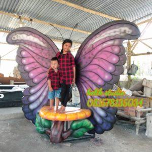 Membuat Patung Kupu Kupu Fiberglass Surabaya Pembuat Patung Fiberglass