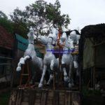 Patung Kuda Fiber Best Seller/0815-7813-5034