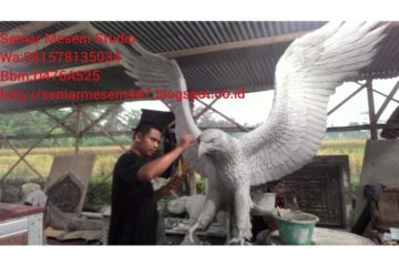 Cetakan Patung Fiber Patung Eagle Karya Seni Patung