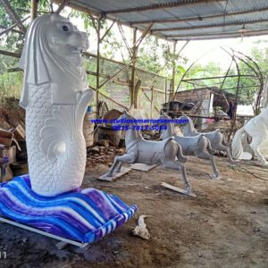Cara Membuat Patung Merlion Cerita Patung Merlion Tempat Pembuatan Patung Maskot