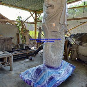 Cara Menggambar Patung Merlion Patung Maskot Kota Surabaya Patung Bekantan Maskot Kalsel
