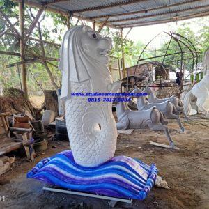 Cara Pembuatan Patung Merlion Patung Merlion Banjarnegara Patung Fiber Jogja