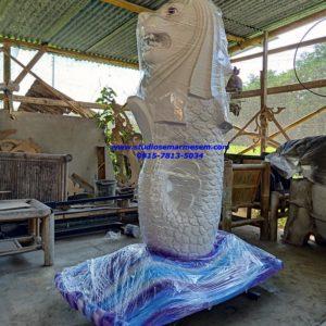 Foto Patung Merlion Patung Fiber Bandung Patung Marlion Fiberglass Pengrajin Patung Fiber Jogja