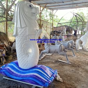 Patung Merlion Di Jawa Tengah Tinggi Patung Merlion Jual Patung Fiber Bali