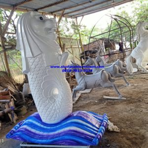 Patung Merlion Indonesia Penjelasan Patung Merlion Jasa Patung Fiber