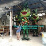 Tempat Pembuatan Patung Maskot Fiberglass/081578135034