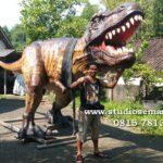 Patung Dinosaurus Berbahan Fiberglass Resin/081578135034