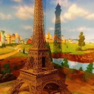 Kelik Semar Mesem Patung Eiffel Pembuat Menara Eiffel