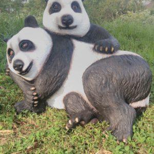 Patung Fiber Bali Patung Panda Lucu Patung Fiber Surabaya