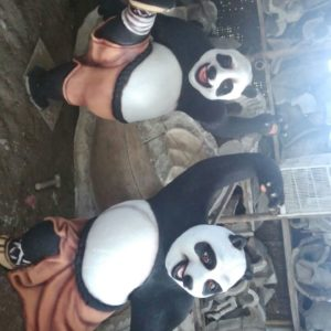 Patung Fiberglass Panda Magelang Kerajainan Patung Patung Tembaga