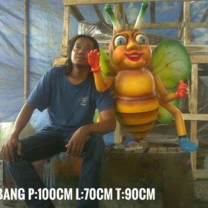 Patung Lebah Madu Patung Fiber Jakarta Harga Patung Fiberglass
