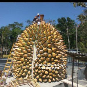 Patung Durian Replika Durian Miniatur Durian