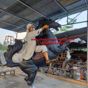 Patung Diponegoro Bantul Gambar Patung Diponegoro