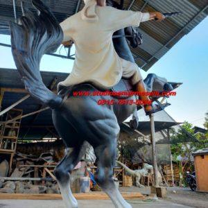 Patung Maskot Patung Taman Patung Fiberglass