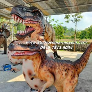 Patung Hewan Karya Seni Relief Patung Dinosaurus Murah Contoh Patung