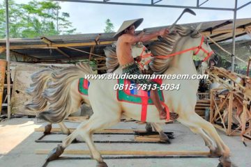 Patung Kuda Murah Maskot Kuda Kuda Fiberglass