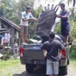 Jual Patung Rajawali-081578135034-Patung Burung Murah