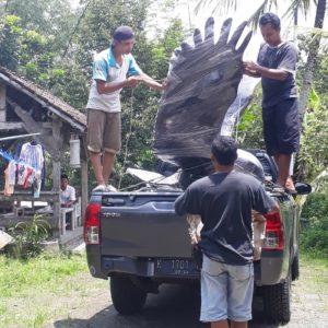 Kelik Semar Mesem Patung Elang Garuda Wisnu Kencana Di Bali