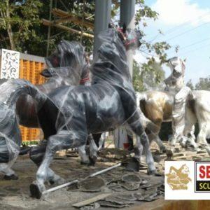 Kelik Studio Semar Mesem Patung Kereta Kuda Jual Patung Buddha