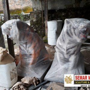 Kelik Studio Semar Mesem Patung Macan Foto Harimau