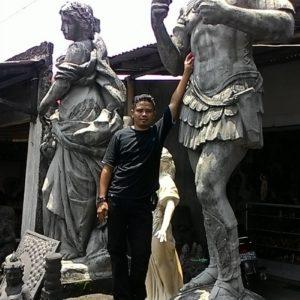 Kelik-studio-semar-mesem-patung-romawi-kuno-harga-patung-garuda-wisnu-kencana