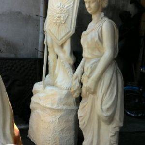 Kelik Studio Semar Mesem Patung Romawi Patung Lilin Anggun