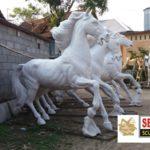 Produsen Patung Kuda Fiberglass Magelang(081578135034)