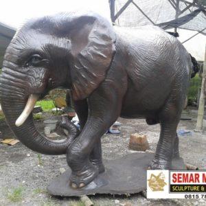 Kelik Studio Semar Mesem Patung Gajah Karya Seni Rupa