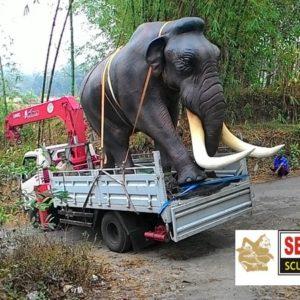 kelik-studio-semar-mesem-patung-gajah-mamuth-icon-bali