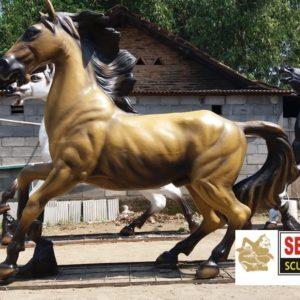 Kelik Studio Semar Mesem Patung Kuda Fiberglass Gambar Hewan Harimau