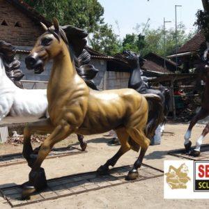 Kelik Studio Semar Mesem Patung Kuda Jinkrak Online Jual Patung Online