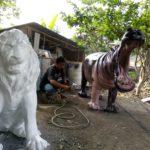 Patung resin |081578135034|Patung Fiberglass Magelang