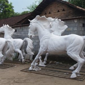 Jual Patung Kuda Fiber Foto Patung Kuda Patung Kuda Hari Ini