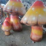 Patung Jamur Fiberglass Murah-081578135034