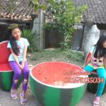 Mebel Karakter Buah Fiberglass-081578135034-Jasa Cetak Patung