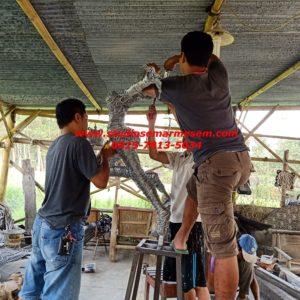 Patung Bahan Kawat Pembuatan Patung Kawat Harga Patung Kawat