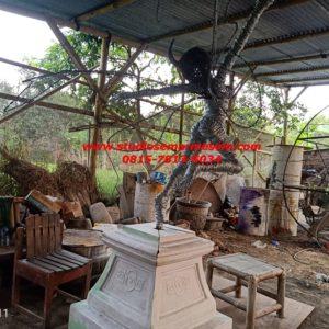 Patung Kawat Kuda Patung Fiber Patung Cetak (2)